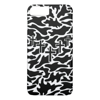 Camo Cross and Camouflage iPhone 8 Plus/7 Plus Case