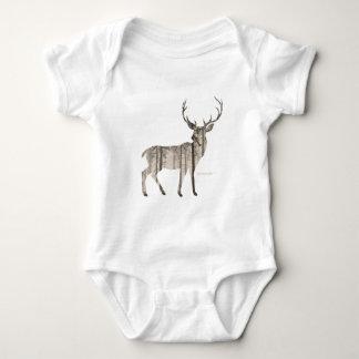 Camo Deer Baby Bodysuit