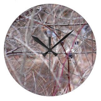 Camo Deer Large Clock