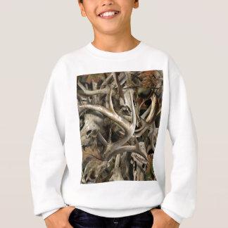 Camo Deer Skulls Sweatshirt