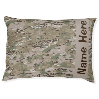 Camo Dog Bed - Hunting Dog Bed