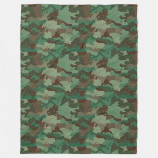 Camo Fleece Blanket