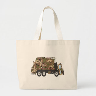 Camo Garbage Truck Military Bag