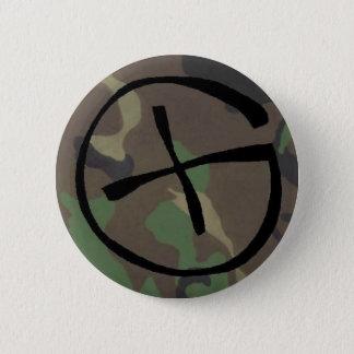 camo, Geocaching 2 Inch Round Button