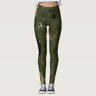 Camo Geometry Leggings