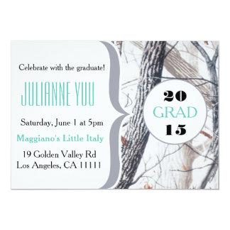 Camo Graduation Party 2015 Personalized Invite
