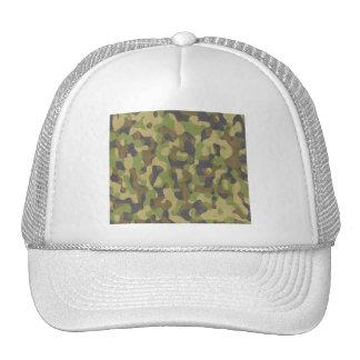 Camo Greens & Browns Trucker Hat