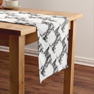 Camo-Grey-Doxie Short Table Runner