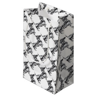 Camo-Grey-Doxie Small Gift Bag
