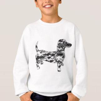Camo-Grey-Doxie Sweatshirt