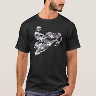 Camo Grey Sled on Black copy T-Shirt