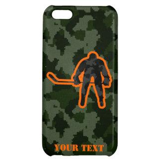 Camo Hockey iPhone 5C Cases