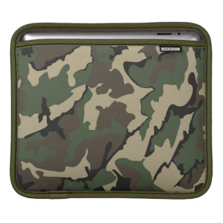 Camo iPad pad Horizontal Sleeve Sleeve For iPads
