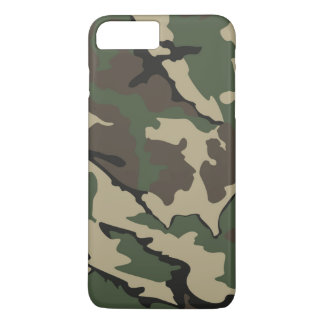 Camo iPhone 7 Plus, Barely There Case