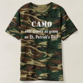 Camo Is Green Men's Shirt