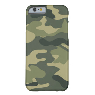Camo Khaki Barely There iPhone 6 Case