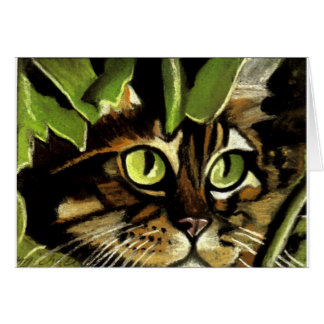 Camo Kitty Card