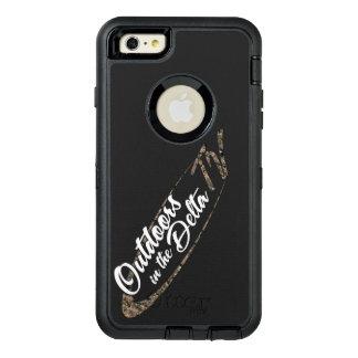 Camo Logo OtterBox Defender iPhone Case