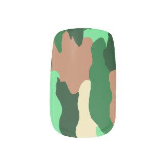 Camo Nails Minx Nail Art