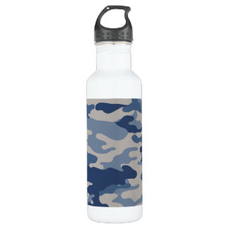Camo Navy Blues Liberty Bottleworks 710 Ml Water Bottle