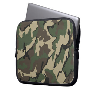 Camo Neoprene Laptop 10 inch Sleeve Laptop Computer Sleeves