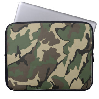 Camo Neoprene Protective Laptop Sleeve 15""