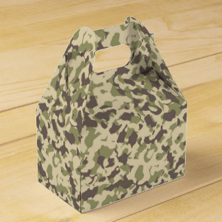Camo Pattern Favor Box