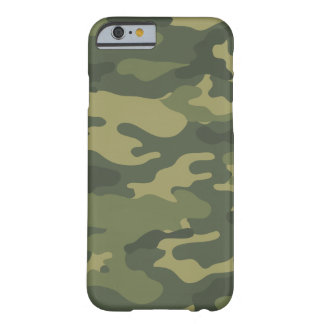 Camo Pattern for hunters or mililtary Barely There iPhone 6 Case