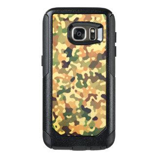 Camo Pattern - Green Orange Brown Black OtterBox Samsung Galaxy S7 Case