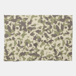 Camo Pattern Hand Towels