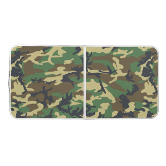 Camo Pattern - Tailgate Size Beer Pong Table