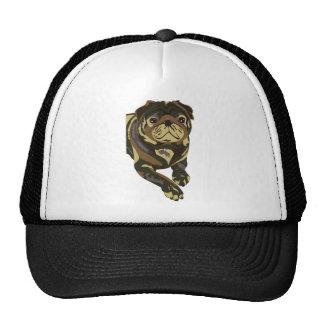 Camo Pug Mesh Hats