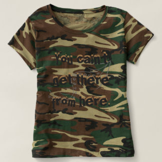 Camo Redneck Directions CricketDiane T-shirt