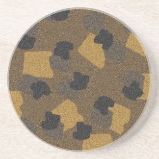 Camo Sandstone Coaster