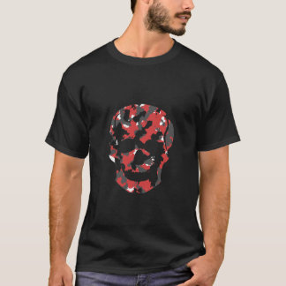 Camo Skull shirt save Black