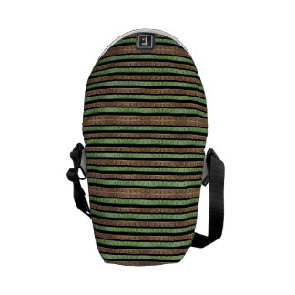 Camo Stripes Print Commuter Bags