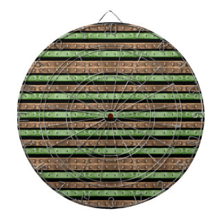 Camo Stripes Print Dartboard