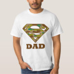 Camo Super Dad T Shirt