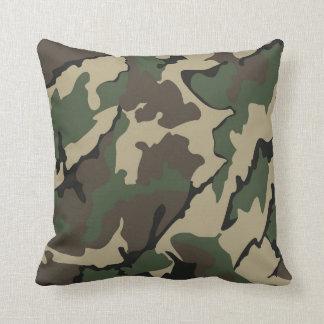 Camo, Throw Pillow