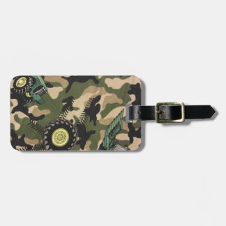 Camo & Tractors Luggage Tag
