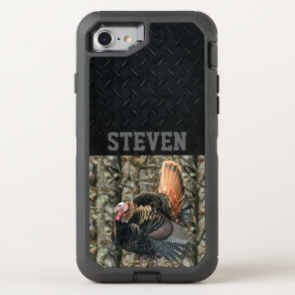 Camo Turkey Hunting Personalized Phone Case