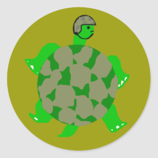 Camo Turtle Stickers