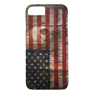 Camo United States of America Flag, iPhone 7 case