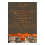 """Camo Wedding Invitation 3.5"""" X 5"""" Invitation Card"""