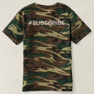 Camo Wood Fam T T-shirt