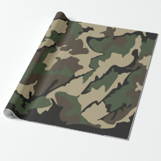 "Camo Wrapping Paper 30""x6'"