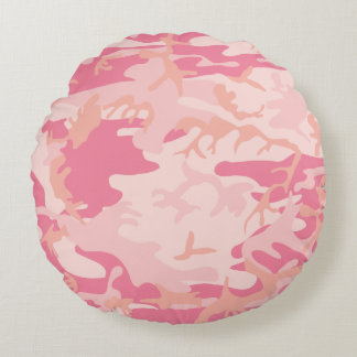 Camo Your Pillow! Round Pillow