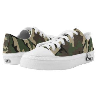 Camo, Zipz Low Top Shoes