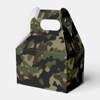 Camoflague Army Camo Birthday Party Favor Party Favor Boxes