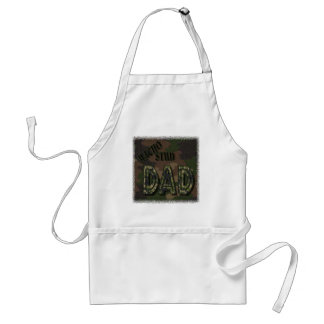 CAMOFLAUGE MACHO STUD DAD! MANLY GIFT STANDARD APRON